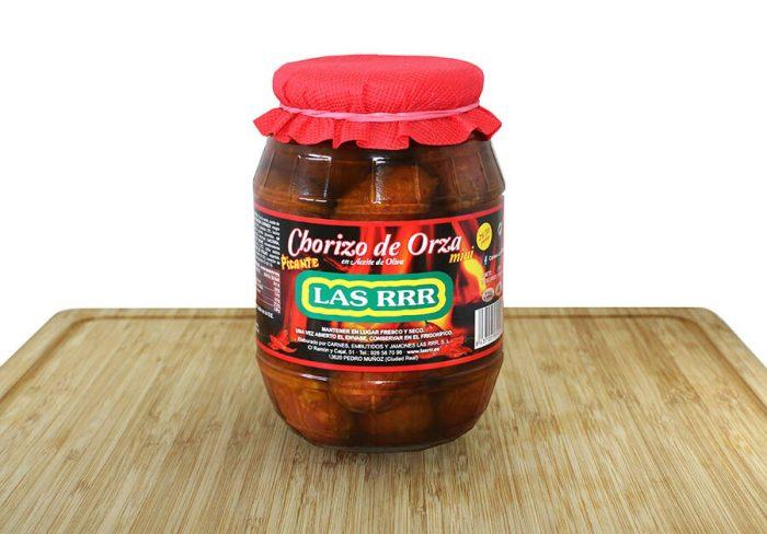Choricitos de Orza Picantes Barril - Las RRR