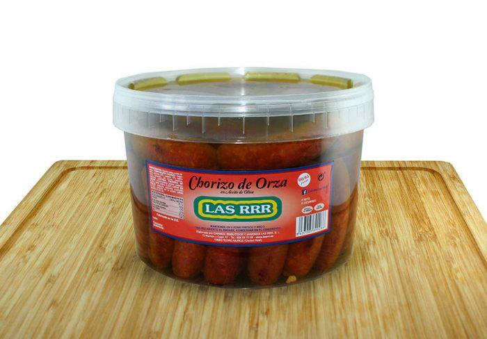 Chorizo de Orza Tarro 5kg - Las RRR